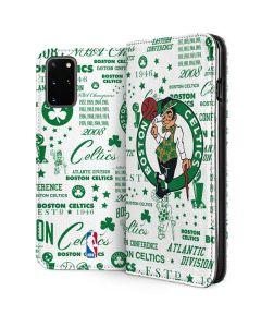Boston Celtics Historic Blast Galaxy S20 Plus Folio Case