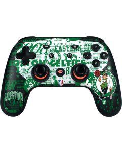 Boston Celtics Historic Blast Google Stadia Controller Skin