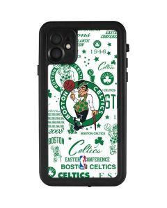 Boston Celtics Historic Blast iPhone 11 Waterproof Case