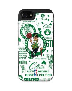Boston Celtics Historic Blast iPhone SE Wallet Case