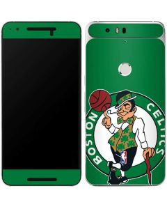 Boston Celtics Large Logo Google Nexus 6P Skin