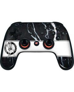 Boston Celtics Marble Google Stadia Controller Skin