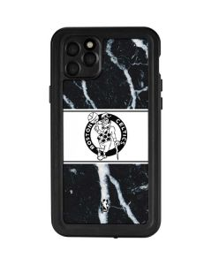 Boston Celtics Marble iPhone 11 Pro Max Waterproof Case