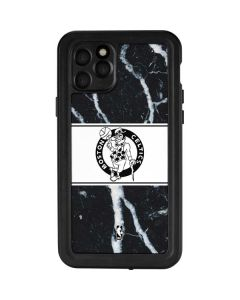 Boston Celtics Marble iPhone 11 Pro Waterproof Case