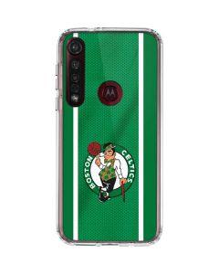 Boston Celtics Moto G8 Plus Clear Case