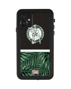 Boston Celtics Retro Palms iPhone 11 Waterproof Case
