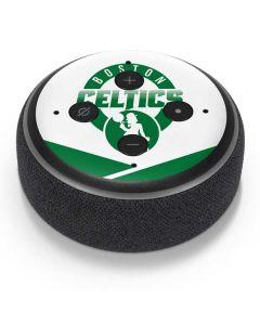 Boston Celtics Split Amazon Echo Dot Skin