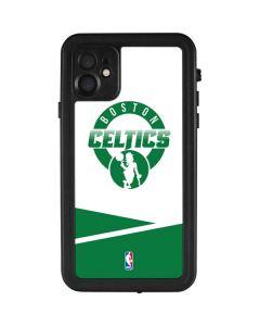 Boston Celtics Split iPhone 11 Waterproof Case