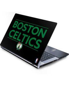 Boston Celtics Standard - Black Generic Laptop Skin