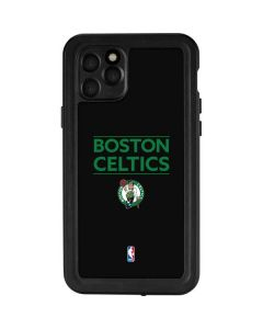 Boston Celtics Standard - Black iPhone 11 Pro Waterproof Case