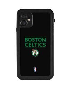 Boston Celtics Standard - Black iPhone 11 Waterproof Case