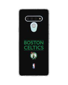 Boston Celtics Standard - Black LG Stylo 6 Clear Case