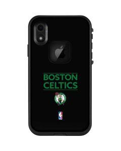 Boston Celtics Standard - Black LifeProof Fre iPhone Skin