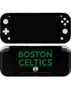 Boston Celtics Standard - Black Nintendo Switch Lite Skin