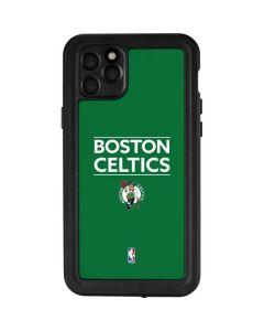 Boston Celtics Standard - Green iPhone 11 Pro Max Waterproof Case