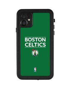Boston Celtics Standard - Green iPhone 11 Waterproof Case