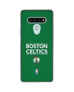 Boston Celtics Standard - Green LG Stylo 6 Clear Case