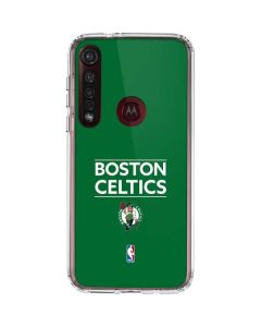 Boston Celtics Standard - Green Moto G8 Plus Clear Case
