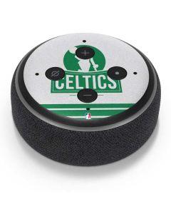 Boston Celtics Static Amazon Echo Dot Skin