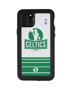 Boston Celtics Static iPhone 11 Pro Max Waterproof Case