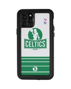 Boston Celtics Static iPhone 11 Pro Waterproof Case