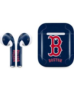 Boston Red Sox - Solid Distressed Apple AirPods 2 Skin