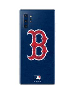Boston Red Sox - Solid Distressed Galaxy Note 10 Plus Skin
