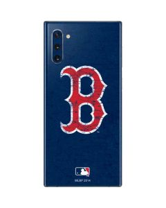 Boston Red Sox - Solid Distressed Galaxy Note 10 Skin