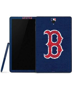 Boston Red Sox - Solid Distressed Samsung Galaxy Tab Skin