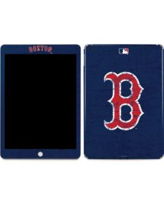 Boston Red Sox - Solid Distressed Apple iPad Skin