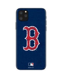 Boston Red Sox - Solid Distressed iPhone 11 Pro Max Skin