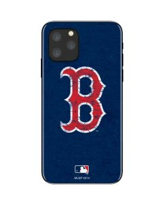 Boston Red Sox - Solid Distressed iPhone 11 Pro Skin
