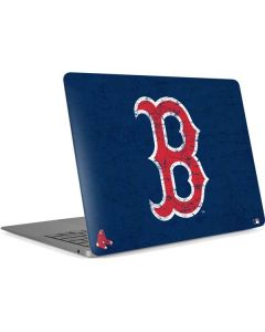 Boston Red Sox - Solid Distressed Apple MacBook Air Skin
