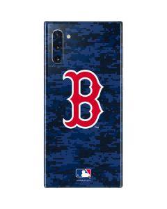 Boston Red Sox Digi Camo Galaxy Note 10 Skin