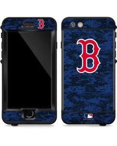 Boston Red Sox Digi Camo LifeProof Nuud iPhone Skin