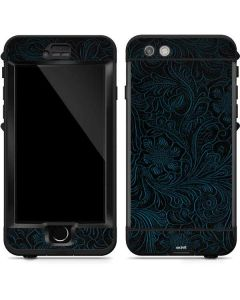 Botanical Flourish Blue LifeProof Nuud iPhone Skin