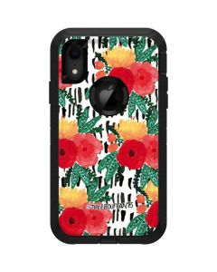 Bouquets Print 3 Otterbox Defender iPhone Skin