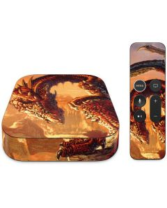 Bravery Misplaced Dragon and Knight Apple TV Skin