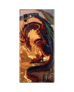 Bravery Misplaced Dragon and Knight Galaxy Note 10 Skin