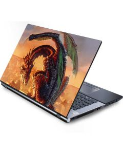 Bravery Misplaced Dragon and Knight Generic Laptop Skin