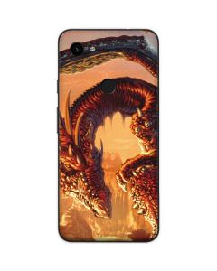 Bravery Misplaced Dragon and Knight Google Pixel 3a Skin