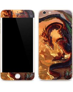 Bravery Misplaced Dragon and Knight iPhone 6/6s Plus Skin