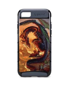 Bravery Misplaced Dragon and Knight iPhone 8 Cargo Case