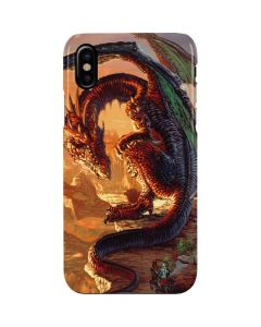 Bravery Misplaced Dragon and Knight iPhone XS Max Lite Case