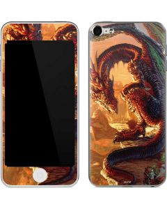 Bravery Misplaced Dragon and Knight Apple iPod Skin