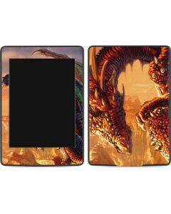 Bravery Misplaced Dragon and Knight Amazon Kindle Skin