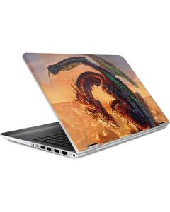 Bravery Misplaced Dragon and Knight HP Pavilion Skin