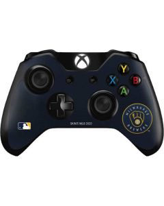 Brewers Embroidery Xbox One Controller Skin