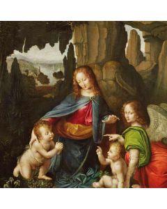 da Vinci - Madonna of the Rocks Otterbox Defender Pixel Skin