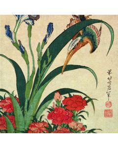 Kingfisher, Iris and Pinks Otterbox Defender Pixel Skin